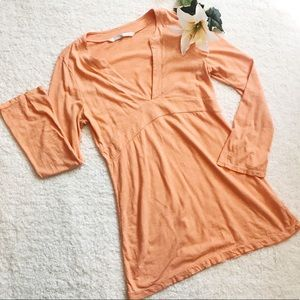 ATHLETA Dress Or Tunic Orange Comfortable